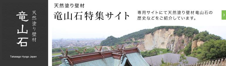 竜山石特集サイト